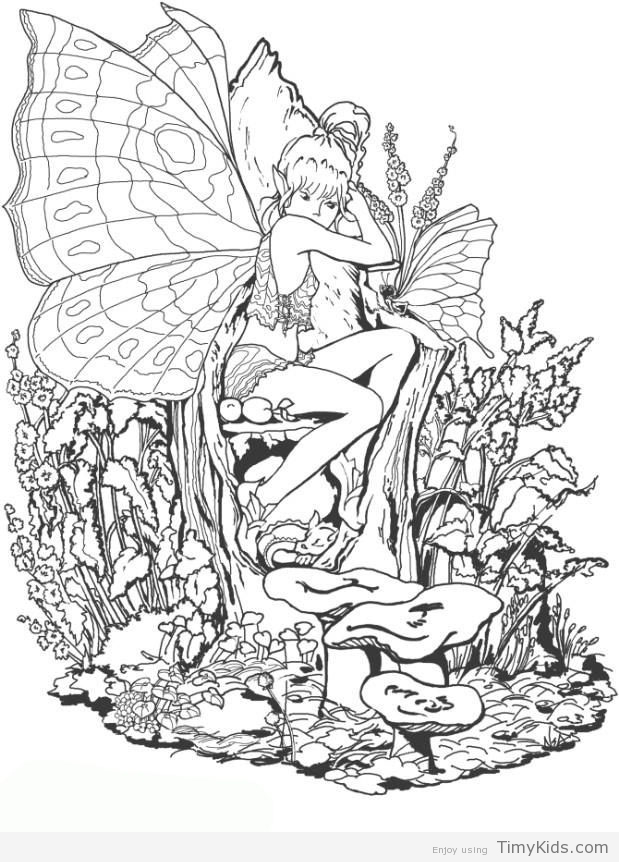 619x862 Moon Fairy Coloring Pages Timykids