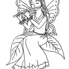 220x220 Fairy Coloring Pages