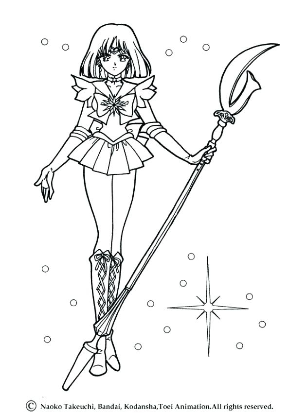 631x850 Sailor Moon Coloring Pages Educational Coloring Pages
