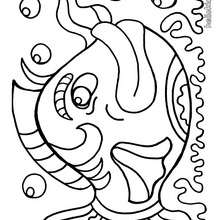 220x220 Moray Eel Coloring Pages