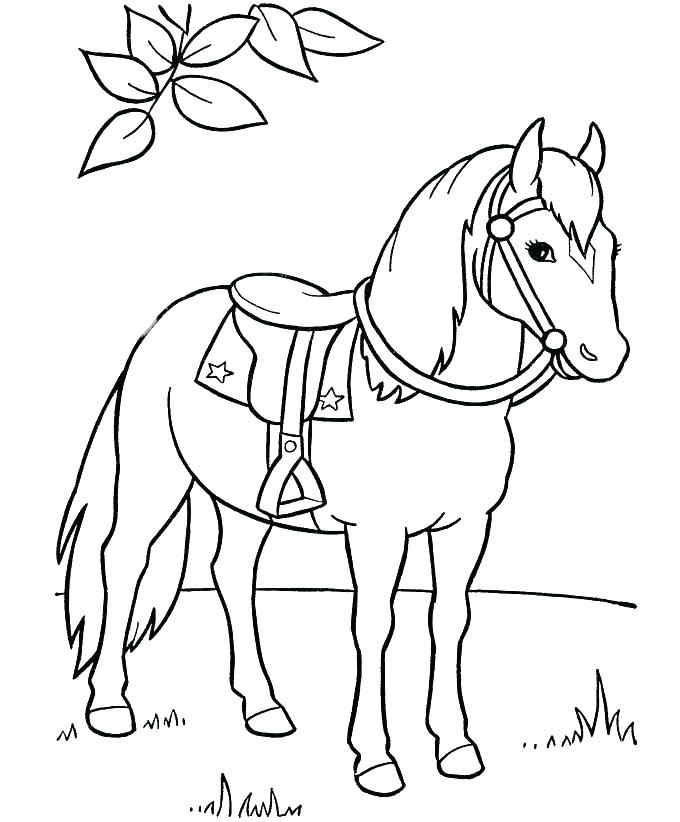 680x822 Printable Horse Coloring Pages For Kids Horse Coloring Pages