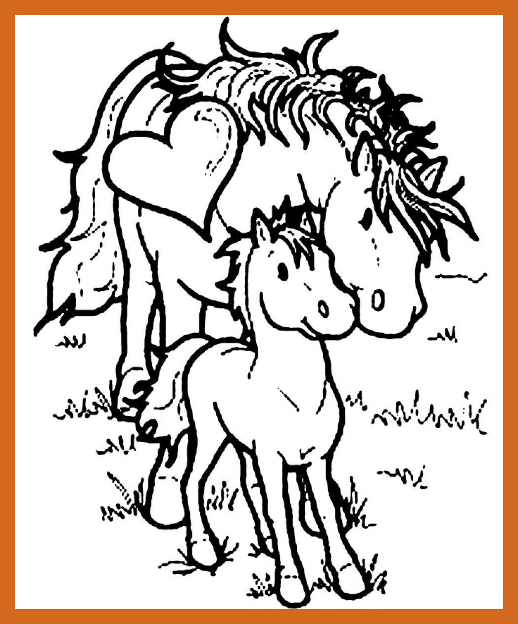 1047x1260 Astonishing Printable Horse Coloring Page Pict Of Morgan Concept