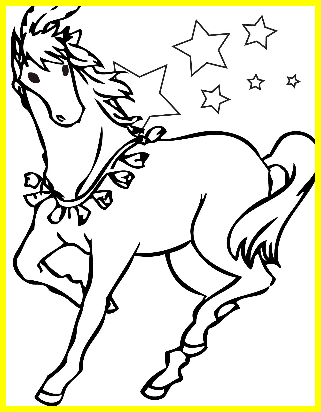 1325x1700 Awesome Printable Horse Coloring Pages Pics Of Morgan Concept