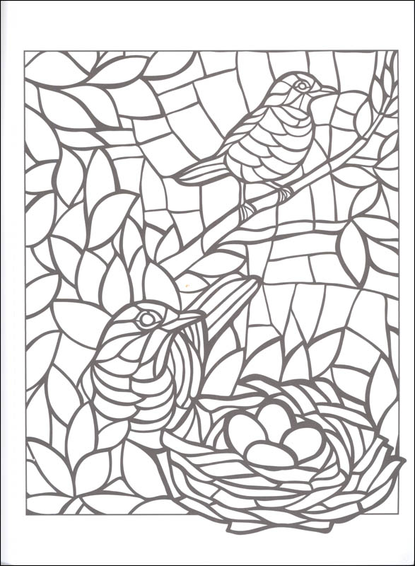 Mosaic Color By Number Coloring Pages At Getdrawings Free Download