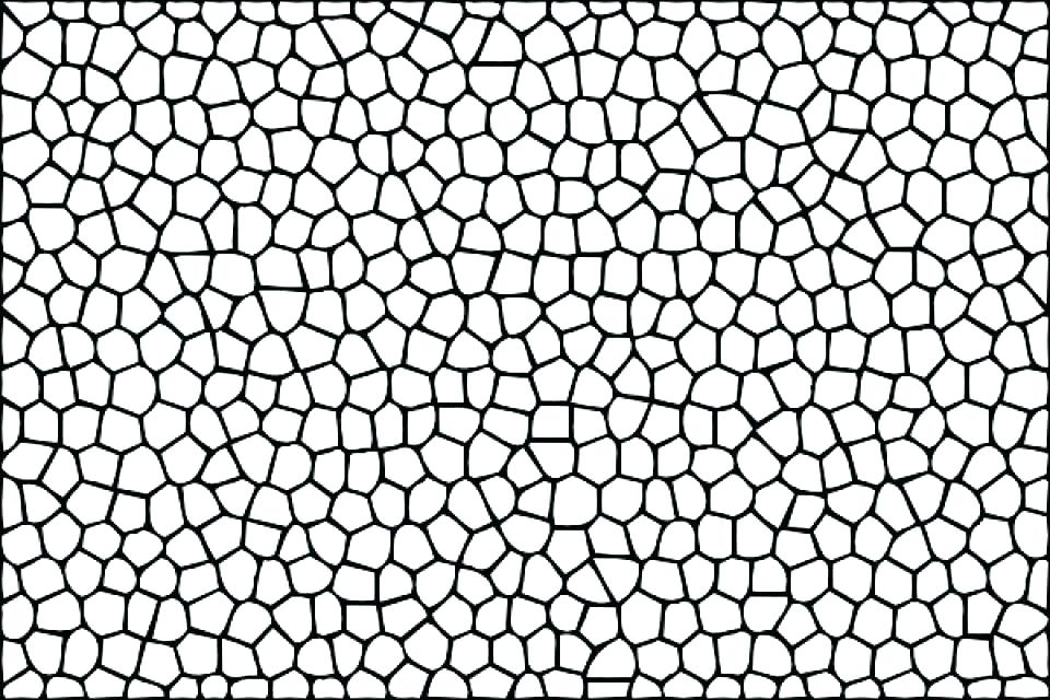 Simple Mosaic Coloring Pages for kids #7140 Simple Mosaic Coloring ... | 640x960