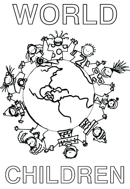 551x800 World Coloring Pages Map Of The World Coloring Page Disney World