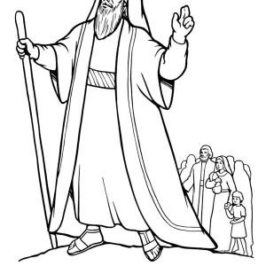 Moses And Pharaoh Coloring Pages at GetDrawings.com | Free ...