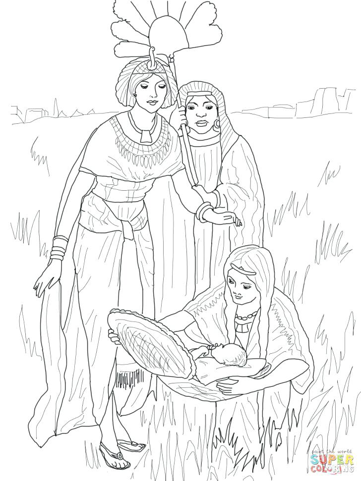 728x971 Moses Coloring Pages Baby Coloring Page With Wallpaper Laptop