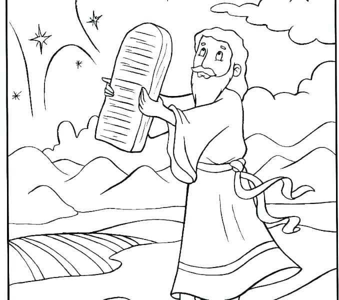 Moses And Pharaoh Coloring Pages At Getdrawings Com Free