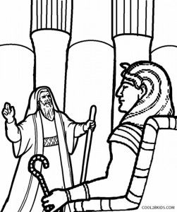 251x300 Moses And Pharaoh Coloring Pages