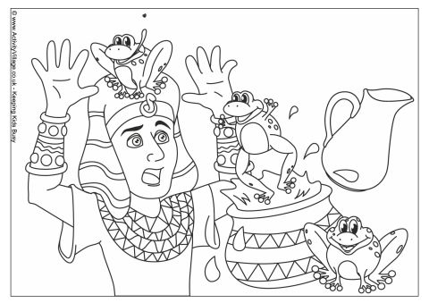 480x339 Plague Of Frogs Colouring Page