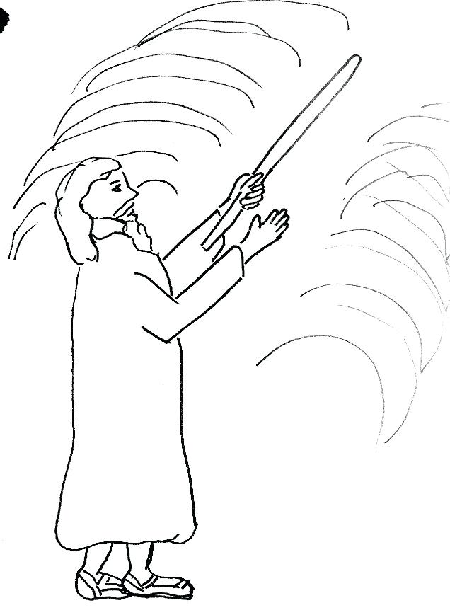 636x869 Moses And The Red Sea Coloring Page Parting The Red Sea Coloring