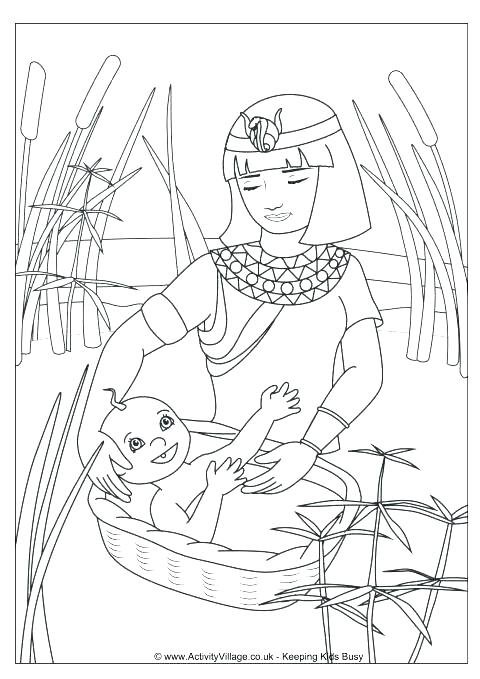 480x679 Coloring Moses And The Red Sea Coloring Page Moses And The Red