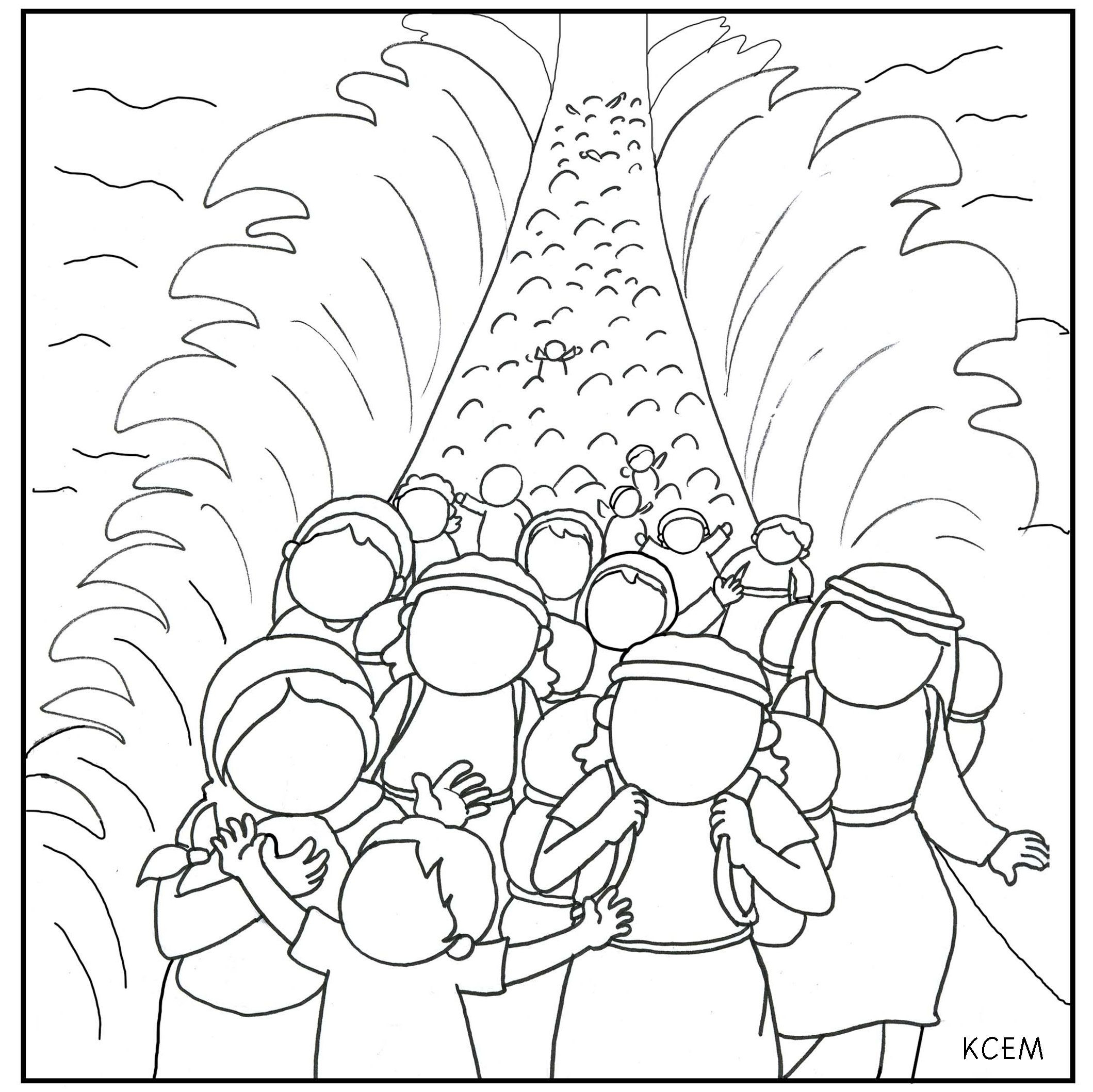 2119x2118 Coloring Pages Red Sea Colouring Sunday School Brilliant Moses