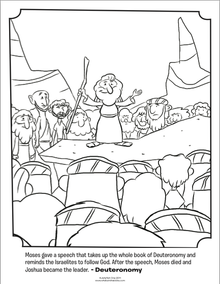 Moses Coloring Pages At Getdrawings Com Free For Personal Use