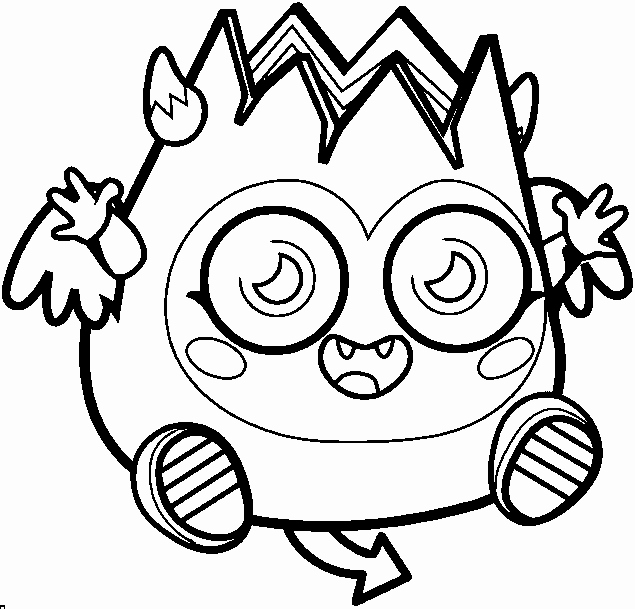 Moshi Monsters Moshlings Coloring Pages