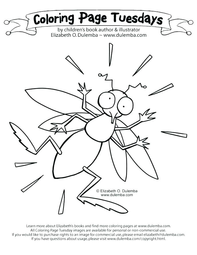 687x889 O Coloring Pages Mosquito Coloring Page Fun Big O Coloring Pages