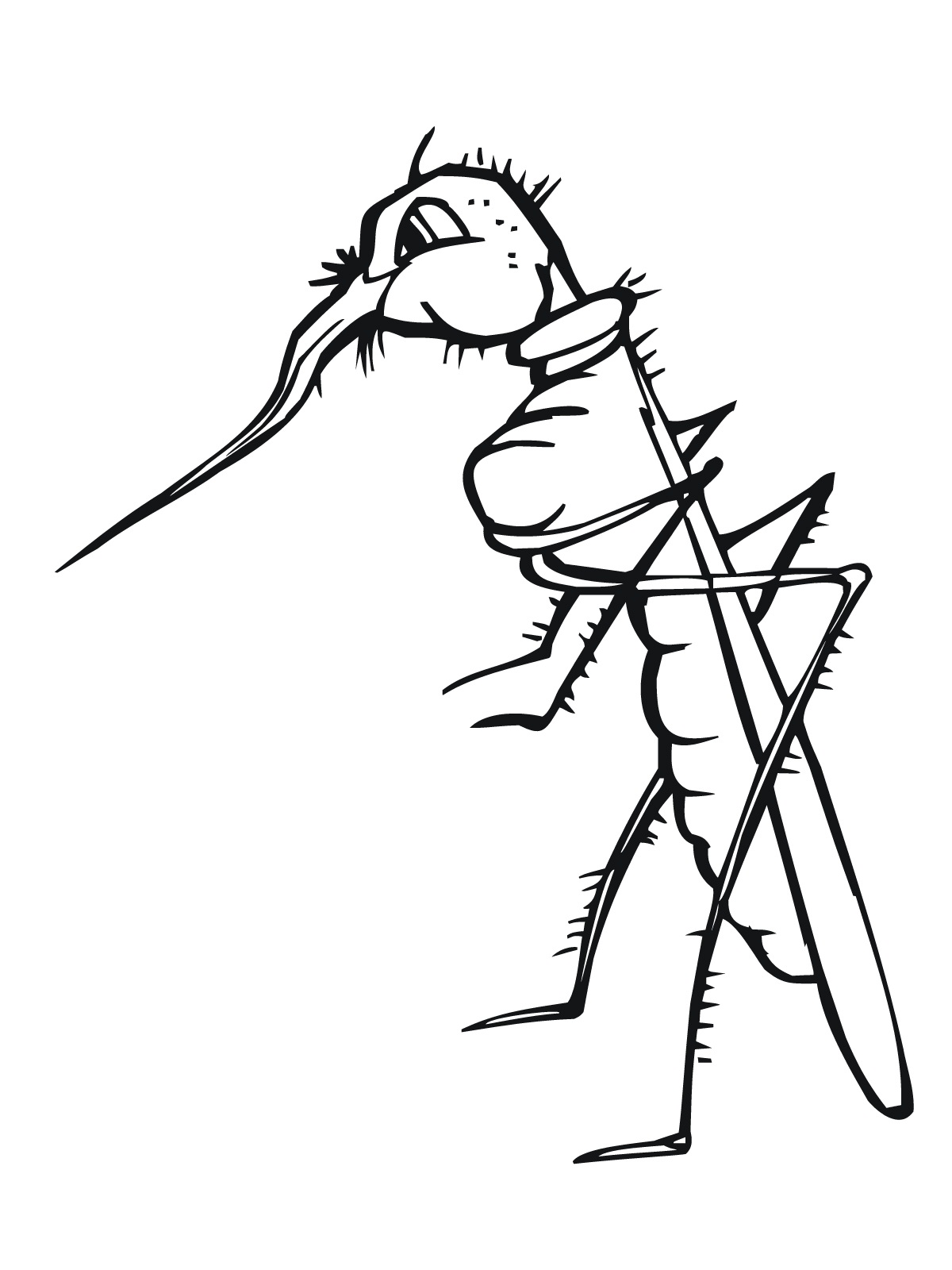 1200x1600 Free Printable Mosquito Coloring Pages For Kids