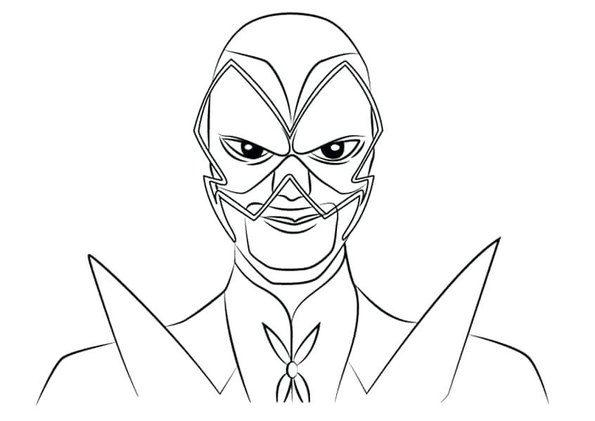 846x599 Ladybug And Cat Noir Coloring Pages Hawk Moth From Miraculous