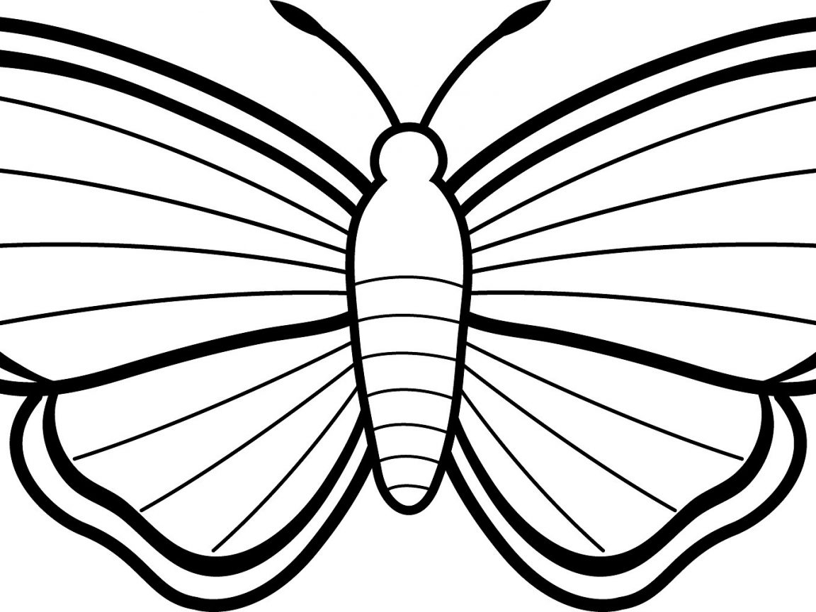 1152x864 Moth Coloring Pages Free Mothman Butterfly And Killer For Imposing