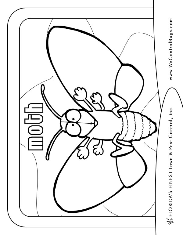 600x770 Florida's Finest Lawn Pest Control's Coloring Book For Kids