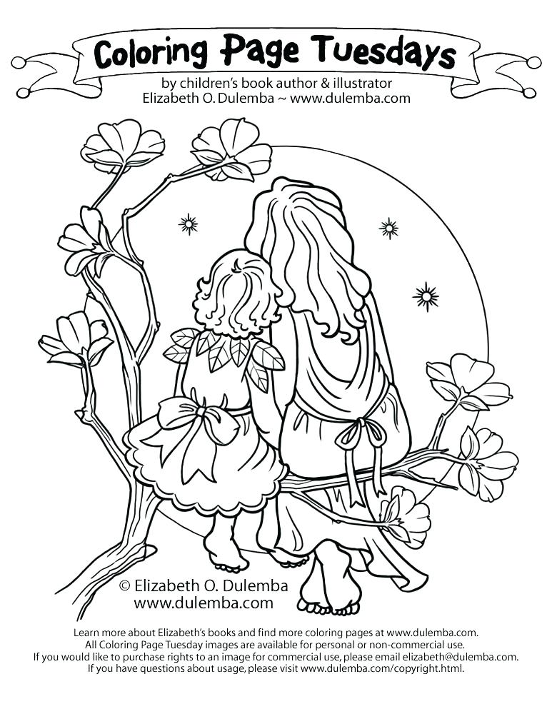 773x1000 Mother And Daughter Coloring Pages Father And Daughter Coloring