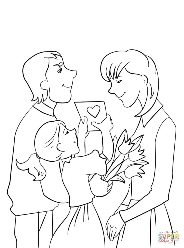 768x1031 Trend Mother And Daughter Coloring Pages Mom Copy Best Of Helping