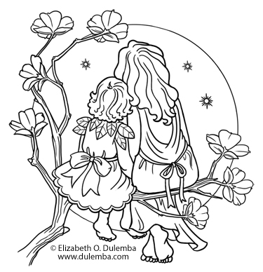 375x388 Dulemba Coloring Page Tuesday