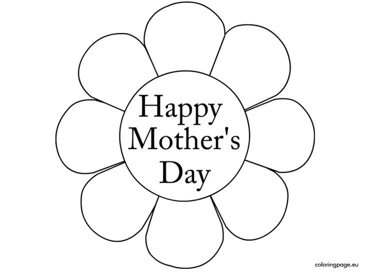 736x544 Happy Mothers Day Coloring Pages
