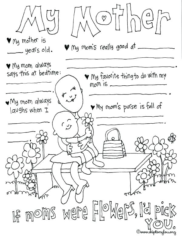 600x777 Mothers Day Coloring Pages For Grandmothers Mothers Day Coloring
