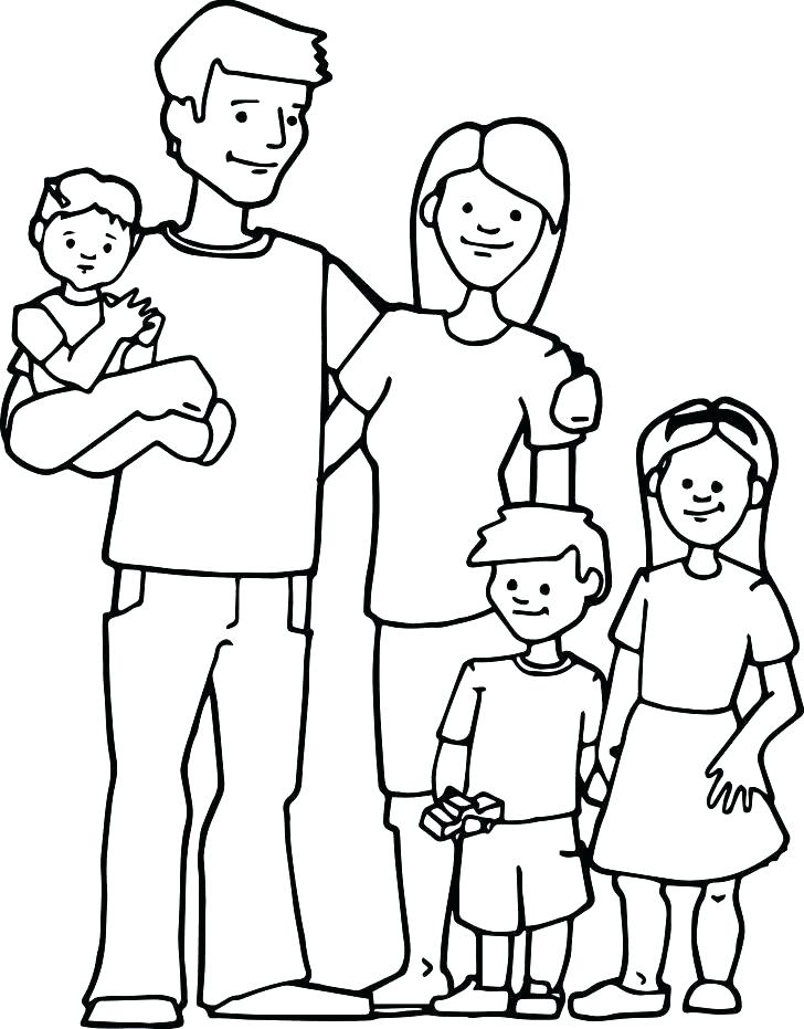 728x931 Family Coloring Pages Mother And Daughter Coloring Pages String
