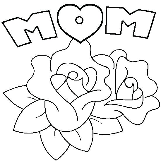 550x550 Happy Mothers Day Coloring Sheets Printable Printable Coloring