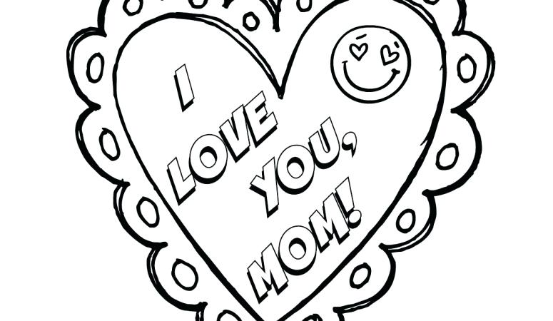 775x450 I Love Mom Coloring Pages Printable I Love You Mom Mothers Day