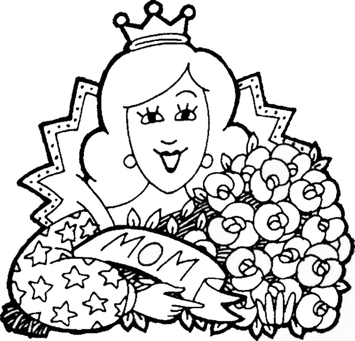 1200x1155 Mother's Day Coloring Pages