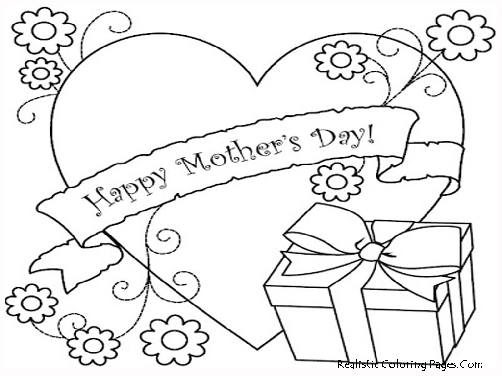 1024x768 Awesome Coloring Pages For Mothers Day Printable To Good Free
