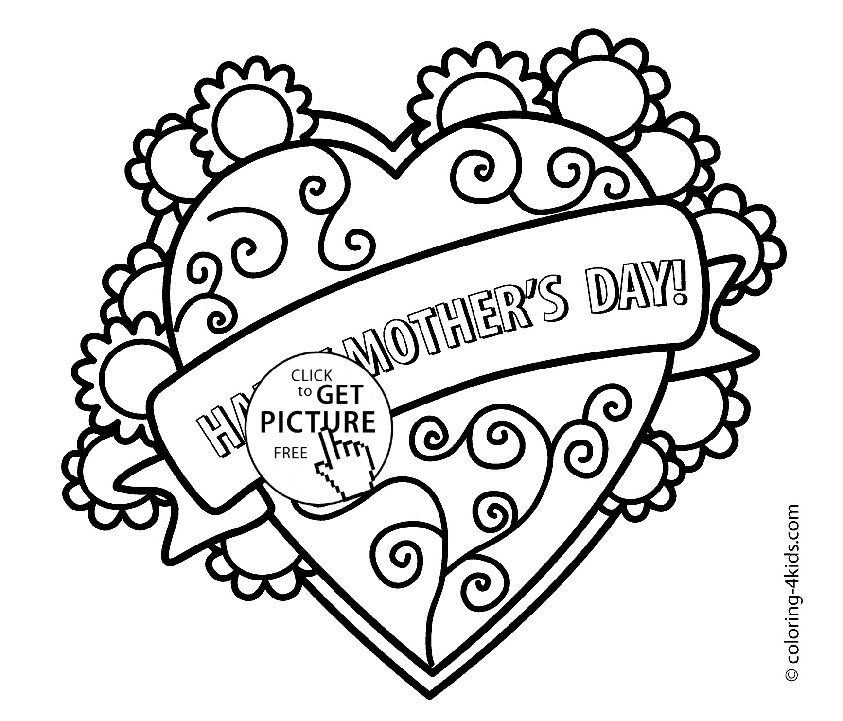 1734x1483 Mothers Day Coloring Day Pages Best Of Awesome Mother Day Color