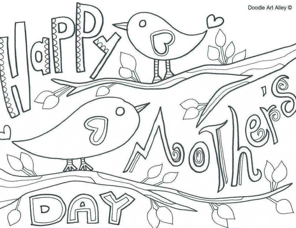 1024x791 Coloring Pages Happy Mothers Day Coloring Pages Printable Happy