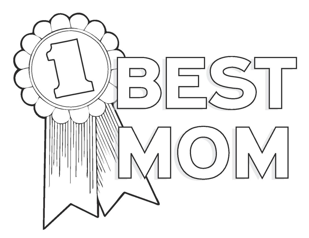 1024x791 Crammed Mothers Day Coloring Pages For Preschool Mother S Flowers