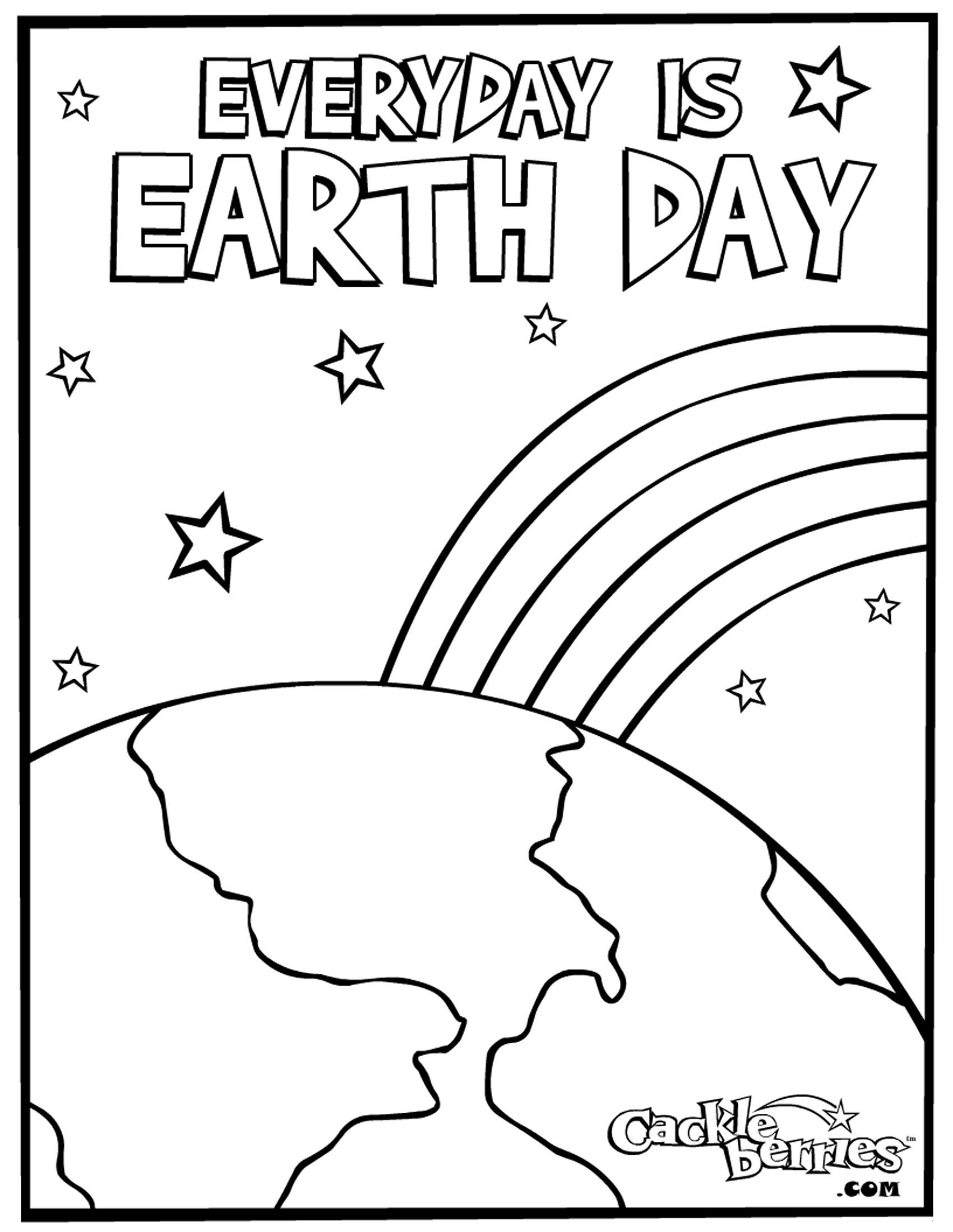 Mother Earth Coloring Pages