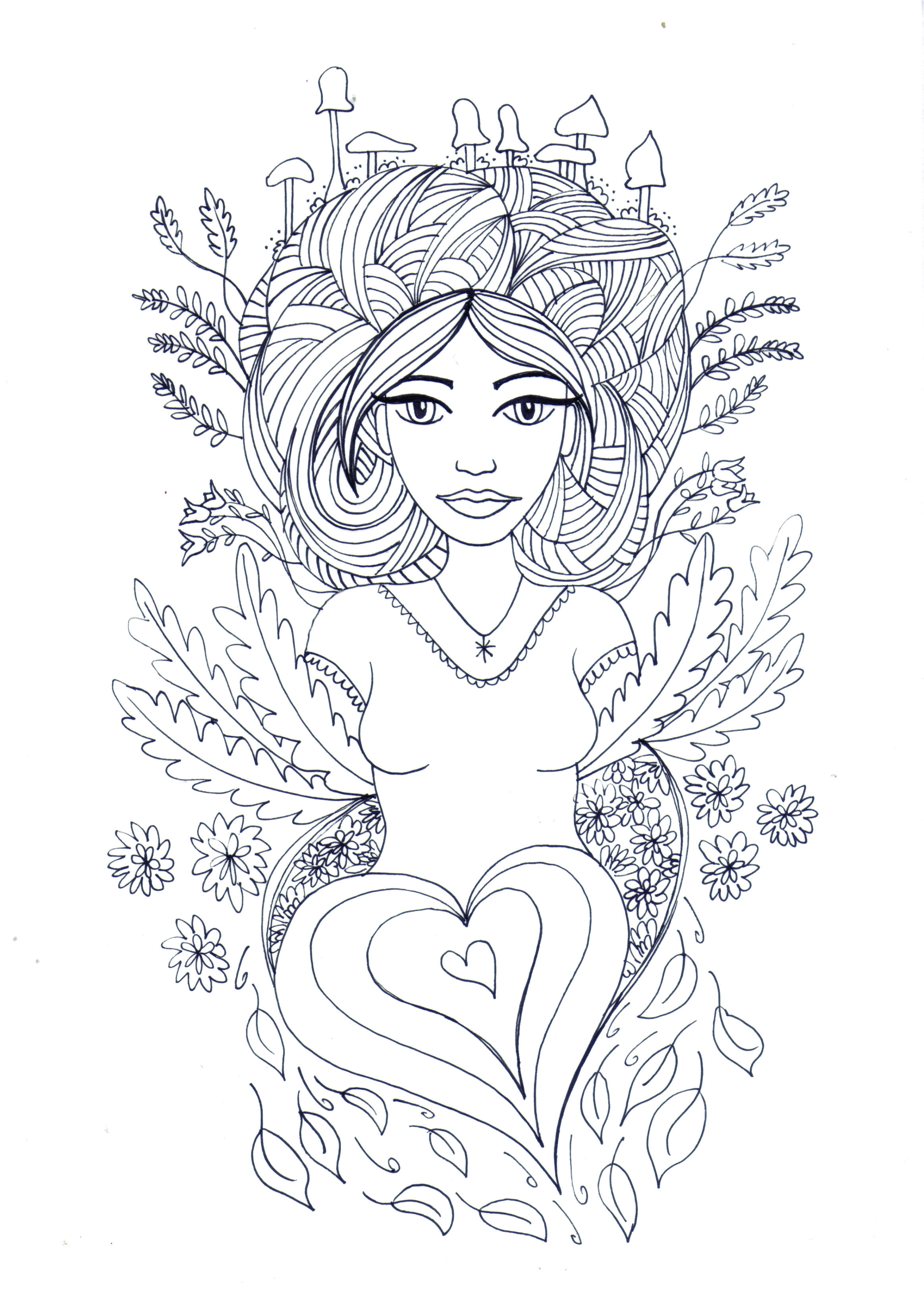 2327x3260 Fresh Free Coloring Pages For Adults