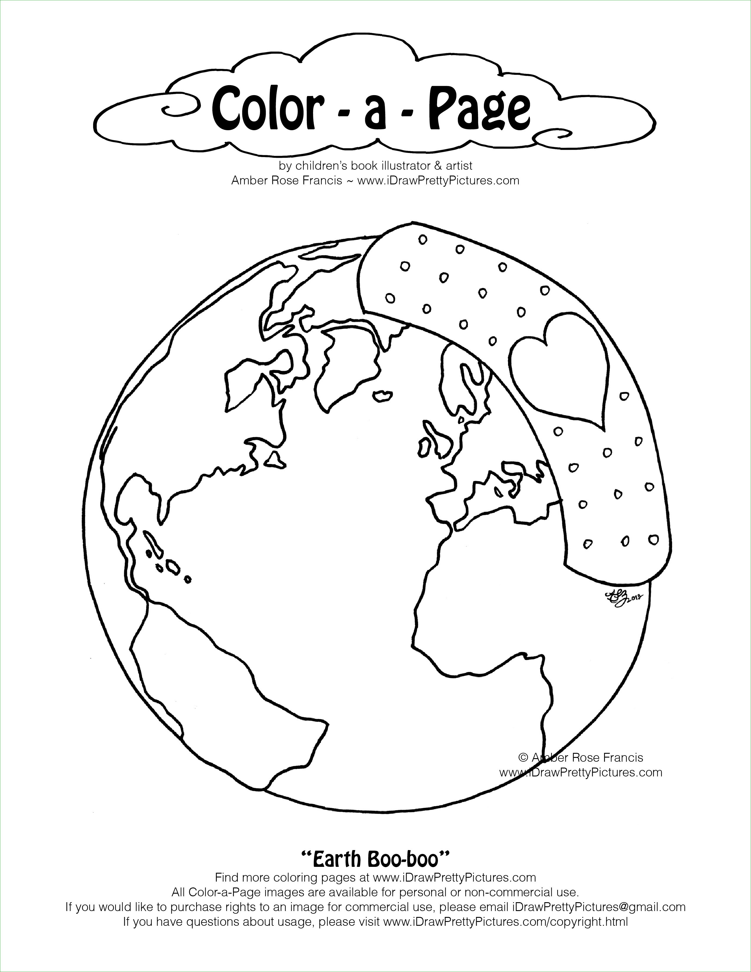 2550x3300 Mother Earth Coloring Pages Tag Page Amber Rose Francis
