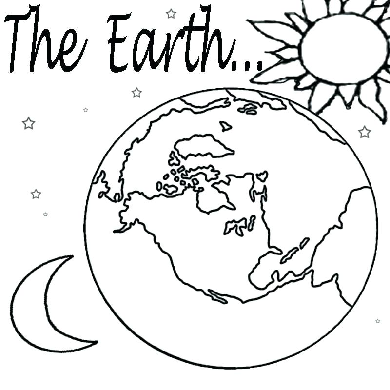 800x800 Mother Earth Colouring Pages