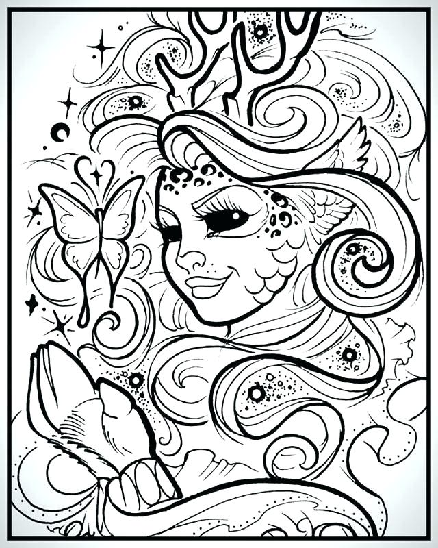 640x800 Romantic Coloring Pages