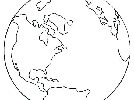 440x330 Earth Coloring Pages Earth Coloring Pages Earth Coloring Pages