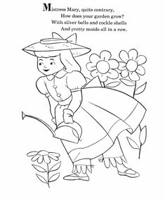 235x288 Mother Goose Coloring Page Mother Goose, Worksheets And School