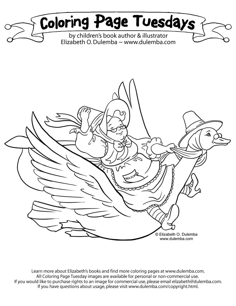 773x1000 Mother Goose Coloring Pages Coloring Page Is Posted Each