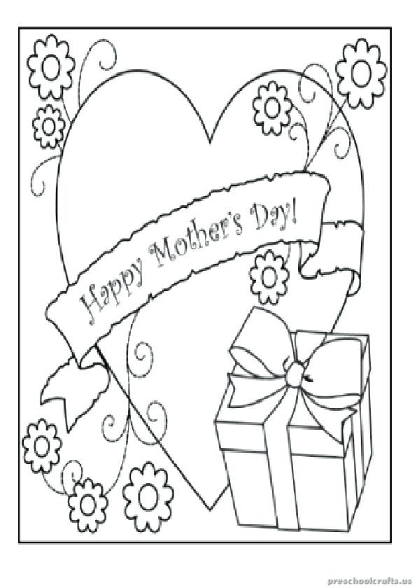 596x840 Mothers Day Colouring Pages Printable Coloring Mother Goose