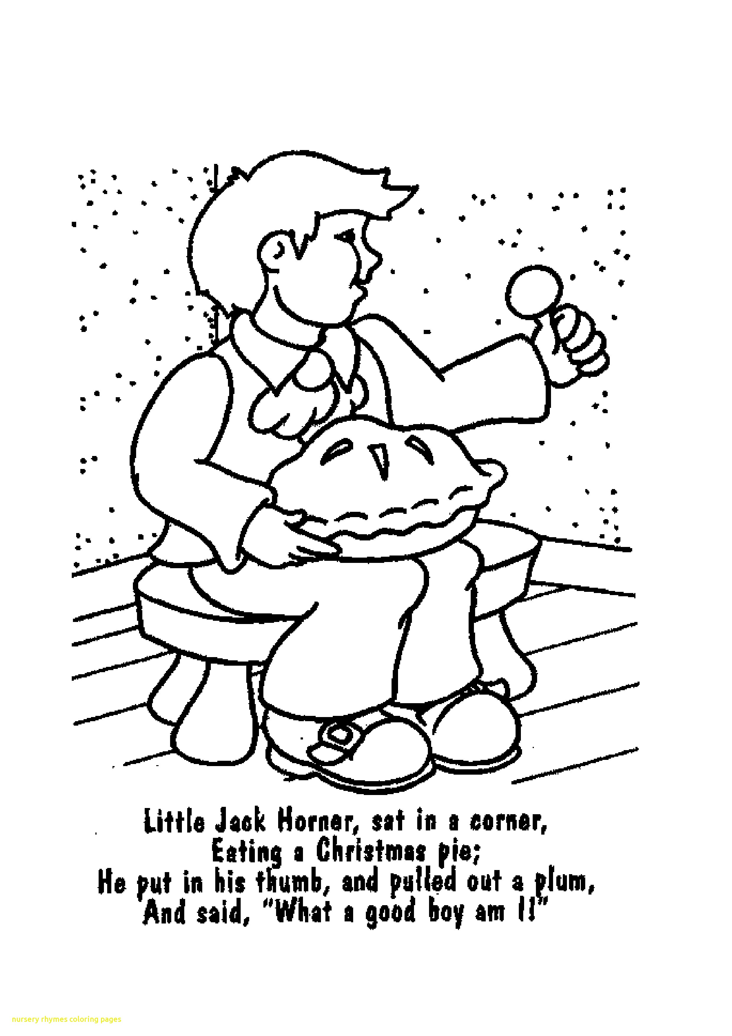 2479x3508 Modest Nursery Rhymes Coloring Pages With Rhyme Printables