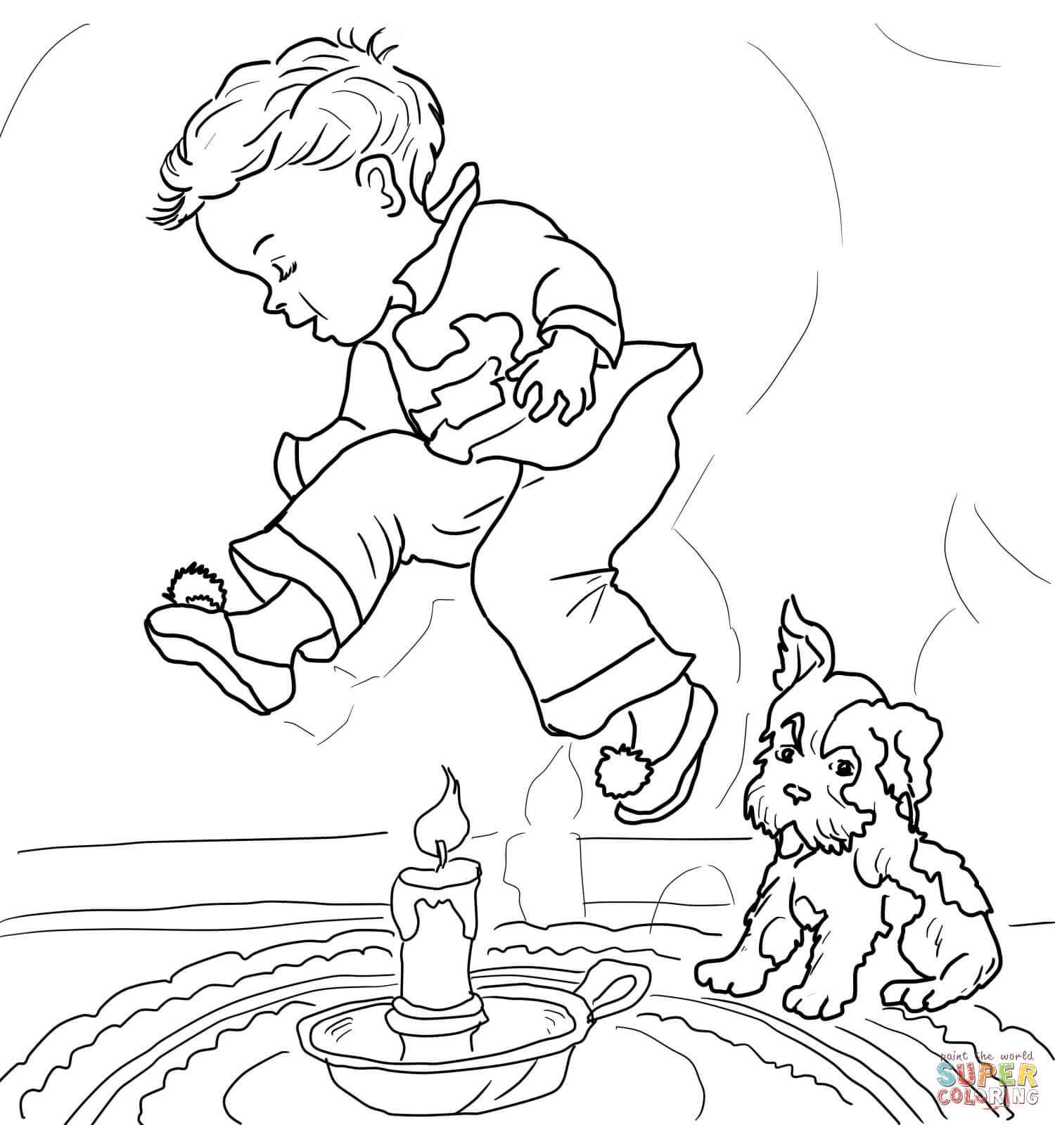 1500x1600 Mother Goose Nursery Rhymes Coloring Pages Free In Rhyme