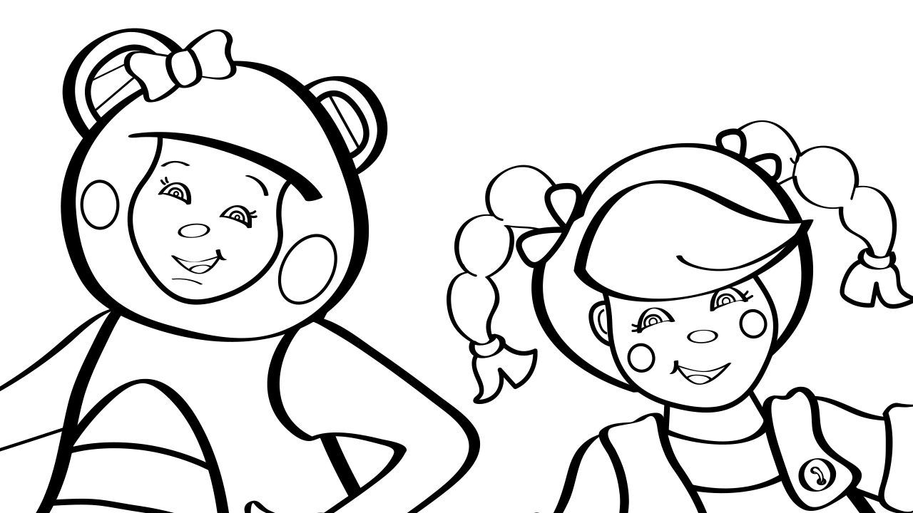 1280x720 Coloring Mother Goose Coloring Pages